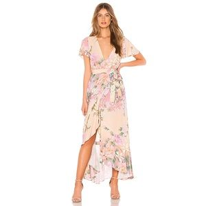 Spell & Gypsy Lily Maxi Dress in Lilac